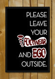 Glass Framed Posters, Footwear Ego Glass Framed Poster, - PosterGully - 1