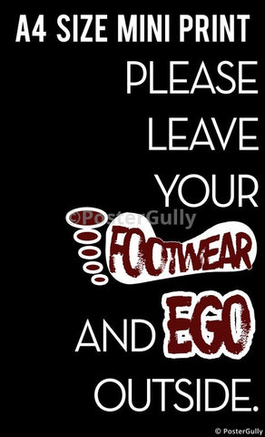 Mini Prints, Footwear Ego | Mini Print, - PosterGully