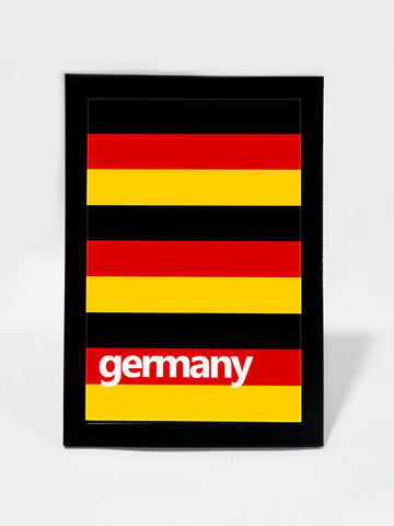 Glass Framed Posters, Germany Soccer Team #footballfan Glass Framed Poster, - PosterGully - 1