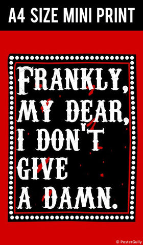 Mini Prints, Frankie My Dear | Gone With The Wind | Mini Print, - PosterGully