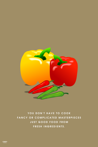 Wall Art, Fresh Ingredients, - PosterGully
