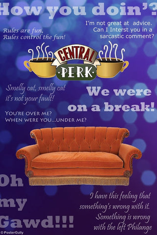 PosterGully Specials, Friends | Central Perk, - PosterGully