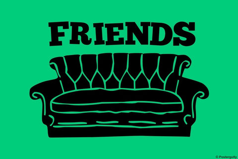 Wall Art, Friends Sofa | Pop Color, - PosterGully