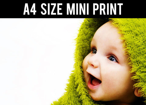 Mini Prints, Fur Coat Baby | Mini Print, - PosterGully
