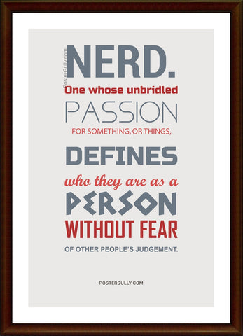 Biz Gyaan, The Nerd, - PosterGully