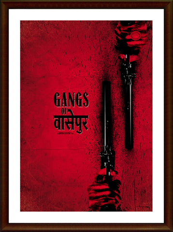 Wall Art, Gangs Of Wasseypur V.2 Artwork, - PosterGully