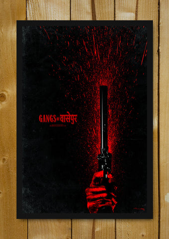 Glass Framed Posters, Gangs Of Wasseypur V.1 Artwork Glass Framed Poster, - PosterGully - 1