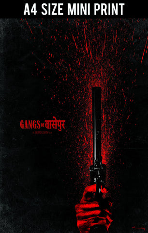 Mini Prints, Gangs Of Wasseypur V.1 Artwork | Mini Print, - PosterGully