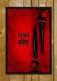 Glass Framed Posters, Gangs Of Wasseypur V.2 Artwork Glass Framed Poster, - PosterGully - 1
