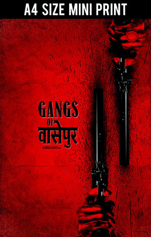 Mini Prints, Gangs Of Wasseypur V.2 Artwork | Mini Print, - PosterGully