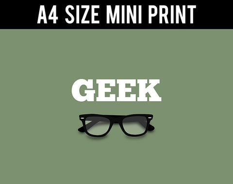 Mini Prints, Geek Specks | Mini Print, - PosterGully
