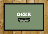Glass Framed Posters, Geek Specks Glass Framed Poster, - PosterGully - 1