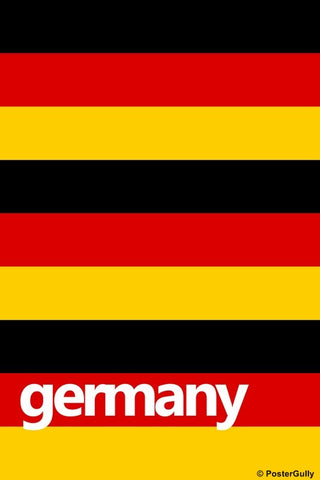 Wall Art, Germany Soccer Team #footballfan, - PosterGully