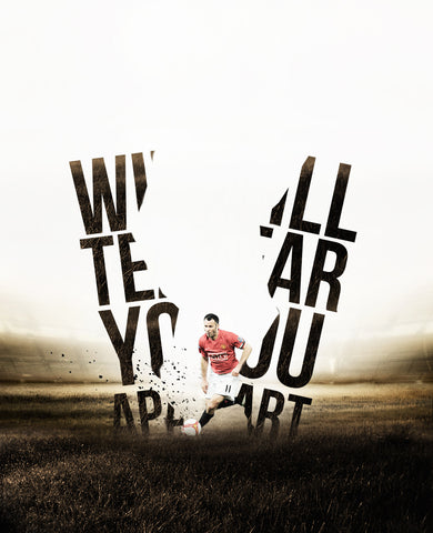 PosterGully Specials, Ryan Giggs | Manchester United Minimal Art, - PosterGully