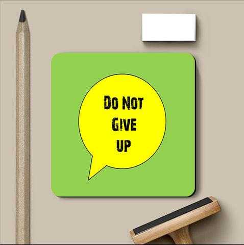 PosterGully Coasters, Give Up Coaster | Artist: Shravya Gunipudi, - PosterGully