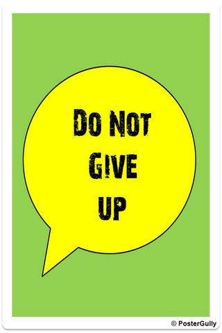 Wall Art, Give Up Artwork | Artist: Shravya Gunipudi, - PosterGully - 1