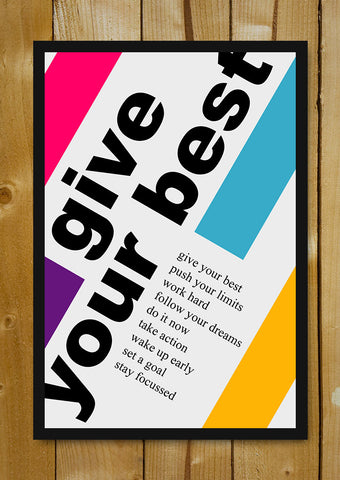 Glass Framed Posters, Give Your Best Glass Framed Poster, - PosterGully - 1