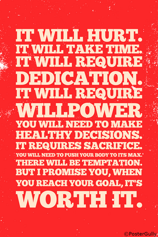 Wall Art, Goal Manifesto Motivational, - PosterGully