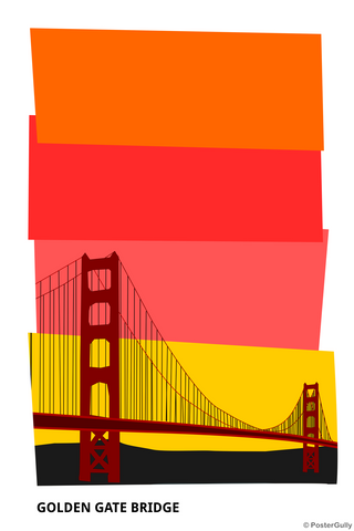 Wall Art, Golden Gate Bridge San Francisco, - PosterGully