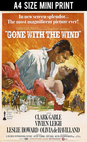 Mini Prints, Gone With The Wind | Mini Print, - PosterGully
