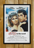 Glass Framed Posters, Grease Glass Framed Poster, - PosterGully - 1