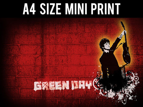 Mini Prints, Green Day | Artwork | Mini Print, - PosterGully