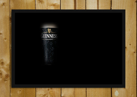 Glass Framed Posters, Guinness Beer Glass Framed Poster, - PosterGully - 1