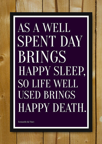Glass Framed Posters, Happy Death Glass Framed Poster, - PosterGully - 1