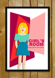 Glass Framed Posters, Happy Girls Are The Prettiest Glass Framed Poster, - PosterGully - 1