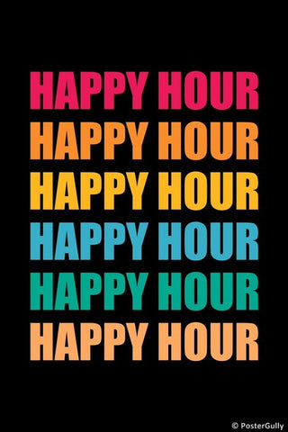 Wall Art, Happy Hour Colors, - PosterGully