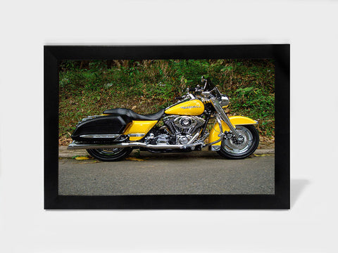 Framed Art, Harley Davidson Road King | Framed Art, - PosterGully
