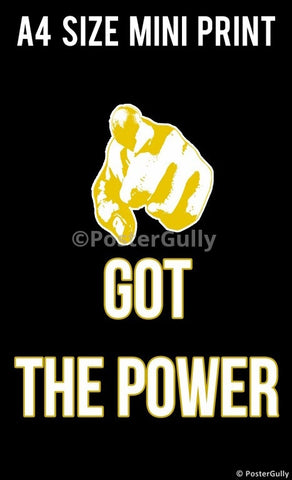 Mini Prints, Have You Got The Power? | Mini Print, - PosterGully