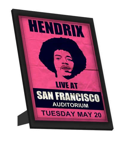 Framed Art, Hendrix | Francisco Concert Framed Art, - PosterGully