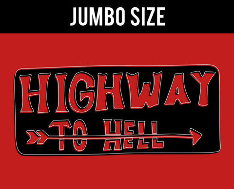 Jumbo Poster, Highway To Hell | Pop Color | Jumbo Poster, - PosterGully