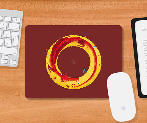 Mousepads, Hobbit-Maroon Mousepad | By Captain Kyso, - PosterGully