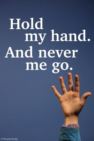 Wall Art, Hold My Hand, - PosterGully