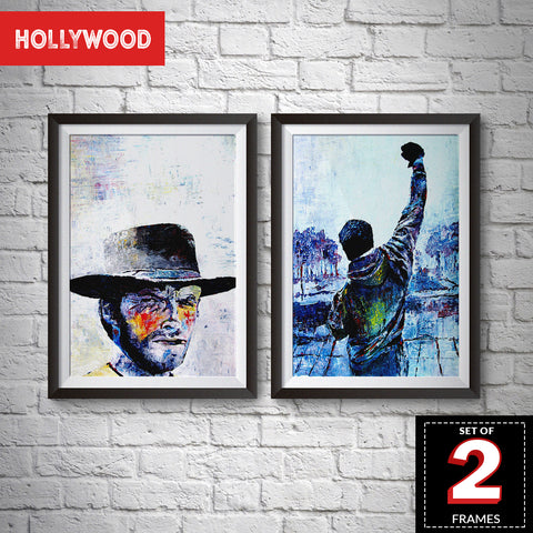 Set of 2 Hollywood Frames