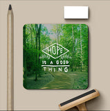 PosterGully Coasters, Hope Is Good Coaster, - PosterGully