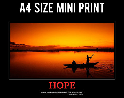 Mini Prints, Hope | Motivational | Mini Print, - PosterGully