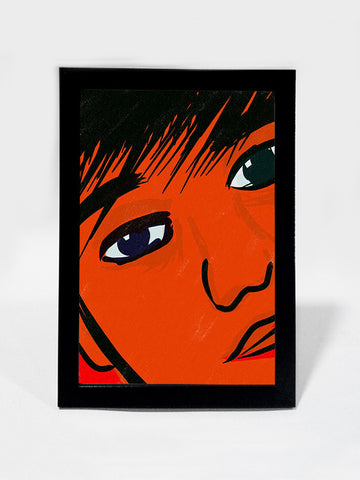 Framed Art, Horror Child Eyes | Framed Art, - PosterGully