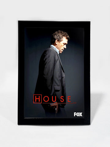 Framed Art, House M.D | Framed Art, - PosterGully