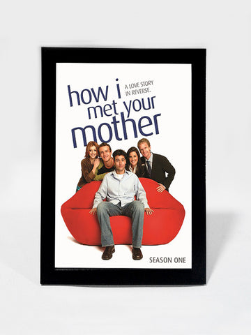 Framed Art, How I Met Your Mother Season 1 | Framed Art, - PosterGully