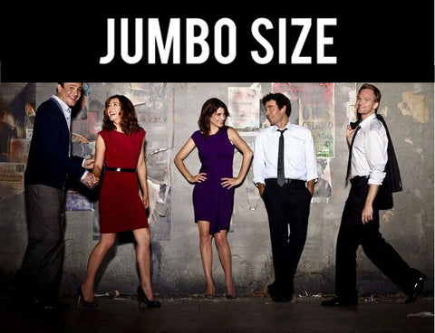 Jumbo Poster, How I Met Your Mother | Stupid Stuff we did in New York | Jumbo Poster, - PosterGully