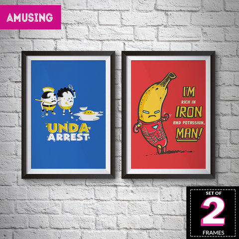 Set of 2 Amusing Frames