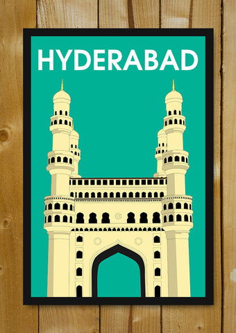 Glass Framed Posters, Hyderabad Charminar Glass Framed Poster, - PosterGully - 1