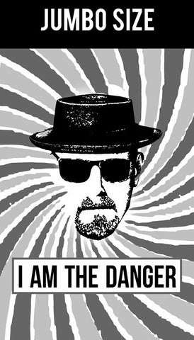 Jumbo Poster, I Am The Danger | Breaking Bad Artwork | Jumbo Poster, - PosterGully