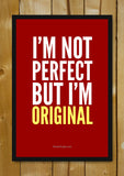 Glass Framed Posters, I'm Original Glass Framed Poster, - PosterGully - 1