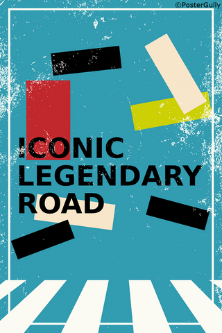 Wall Art, Iconic Abbey Road | The Beatles, - PosterGully