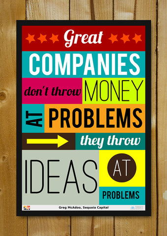 Glass Framed Posters, Ideas Sequoia Capital Glass Framed Poster, - PosterGully - 1