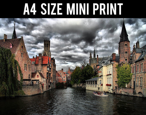 Mini Prints, In Bruges | Belgium | Mini Print, - PosterGully